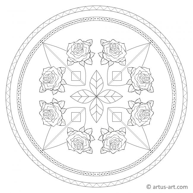 Roses Mandala
