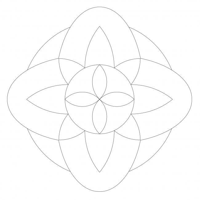 Easy Mandala