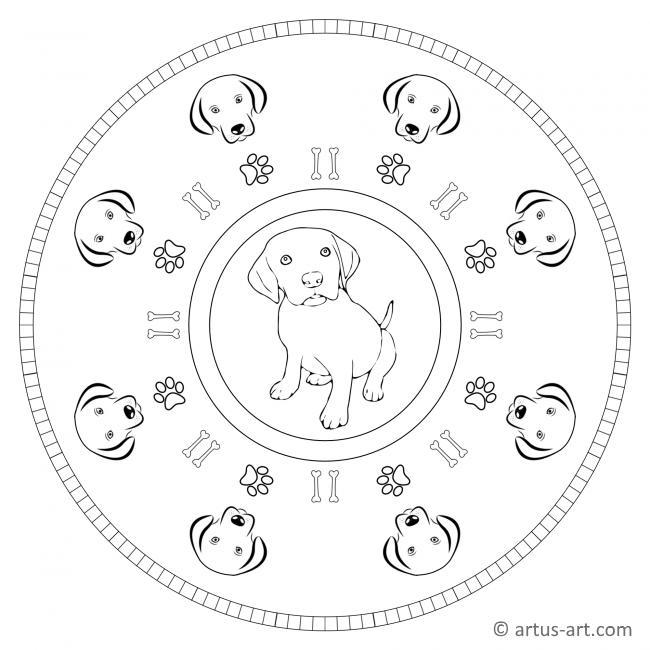 malvorlage hundekopf  kinder ausmalbilder