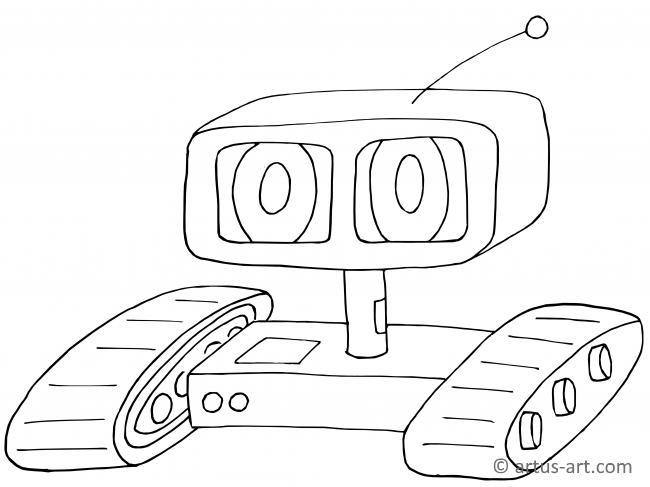 Ferngesteuerter Roboter