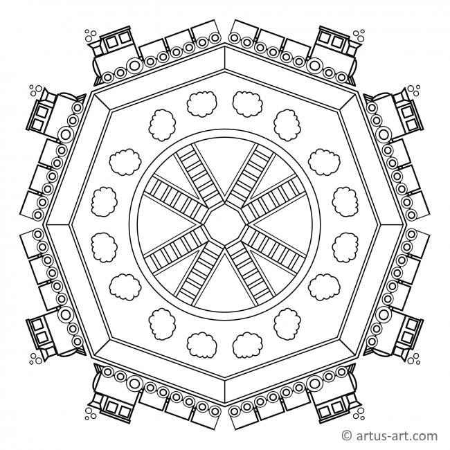 Railroad Mandala