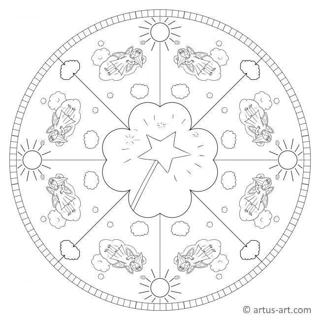 Sky Fairy Mandala