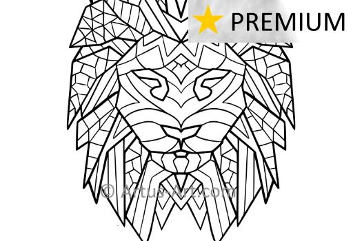Premium Löwe