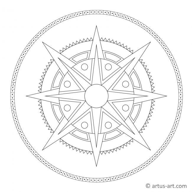 Summer Sun Mandala
