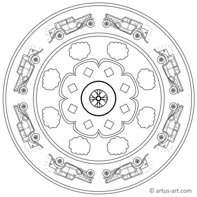 Oldtimer Mandala