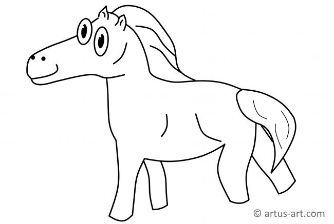 Coloring pages: Coloring pages: Horseshoe, printable for kids ... | 437x650