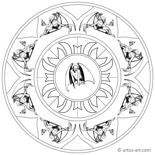 Teufel Mandala