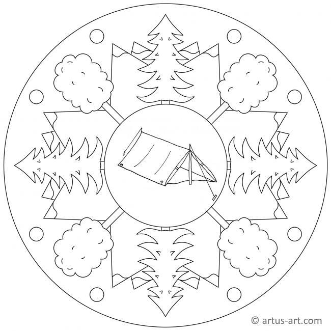 Zelten Mandala