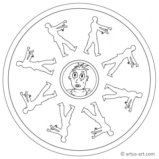 Zombie Mandala