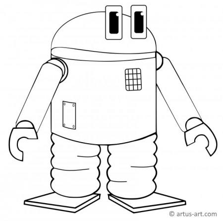 Android Coloring Page