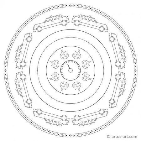 Car Mandala