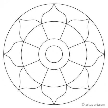 Simple Mandalas