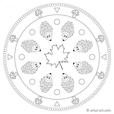 Hoglet Mandala