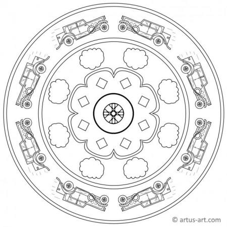 Old-Timer Mandala