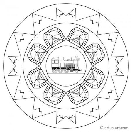 Lokomotive Mandala