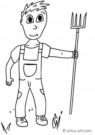 Job Coloring Pages