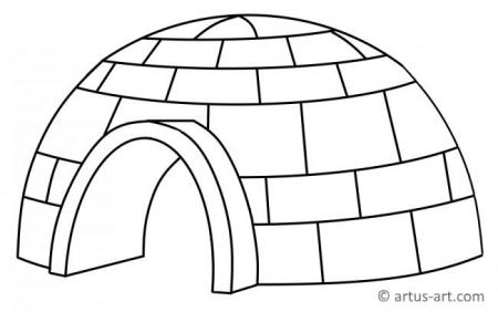 Buildings Coloring Pages