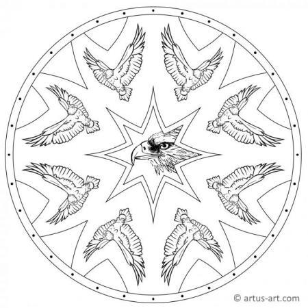 Eagle Mandala