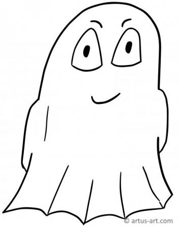 Phantom Coloring Page