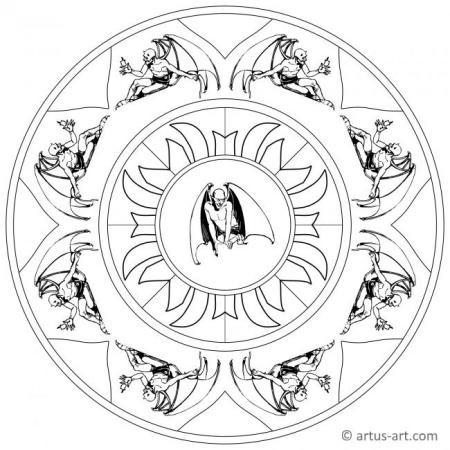 Devil Mandala