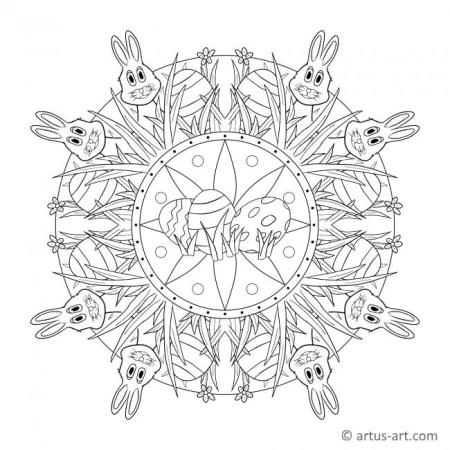 Easter Spring Mandala